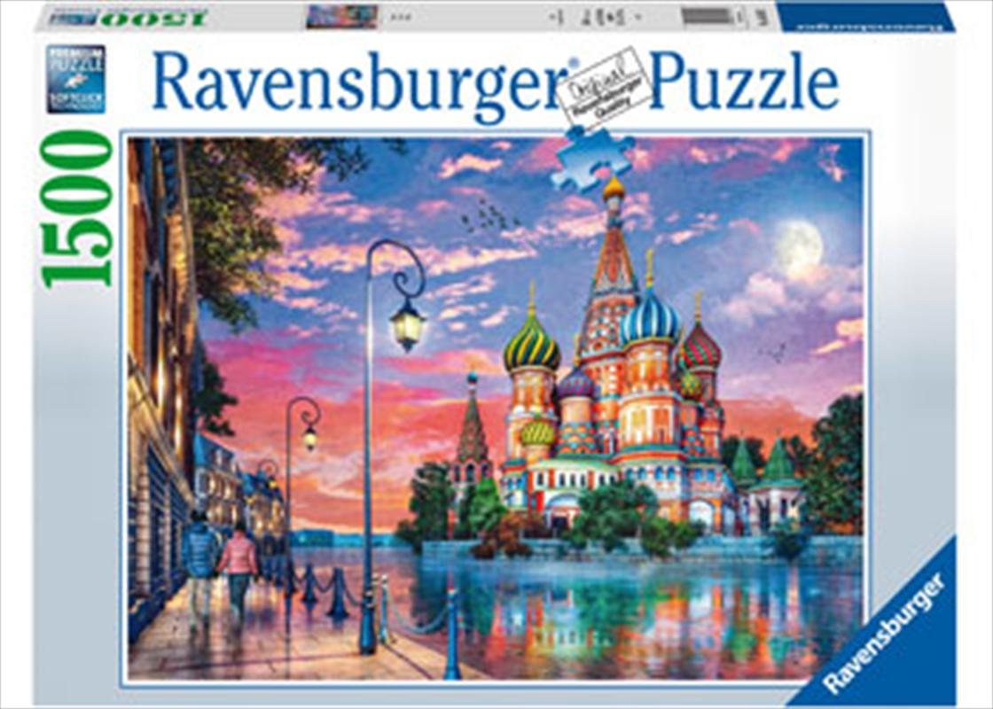 Moscow Puzzle 1500pc | Merchandise