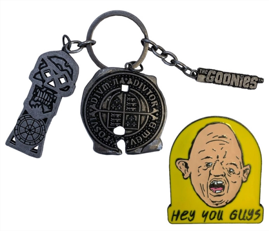 The Goonies - CHS Keychain & Pin Set   Collectable