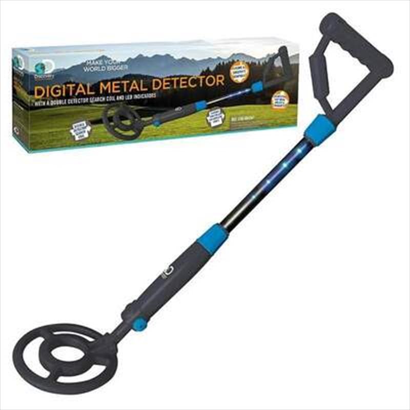 Discovery Adventures – Digital Metal Detector   Toy