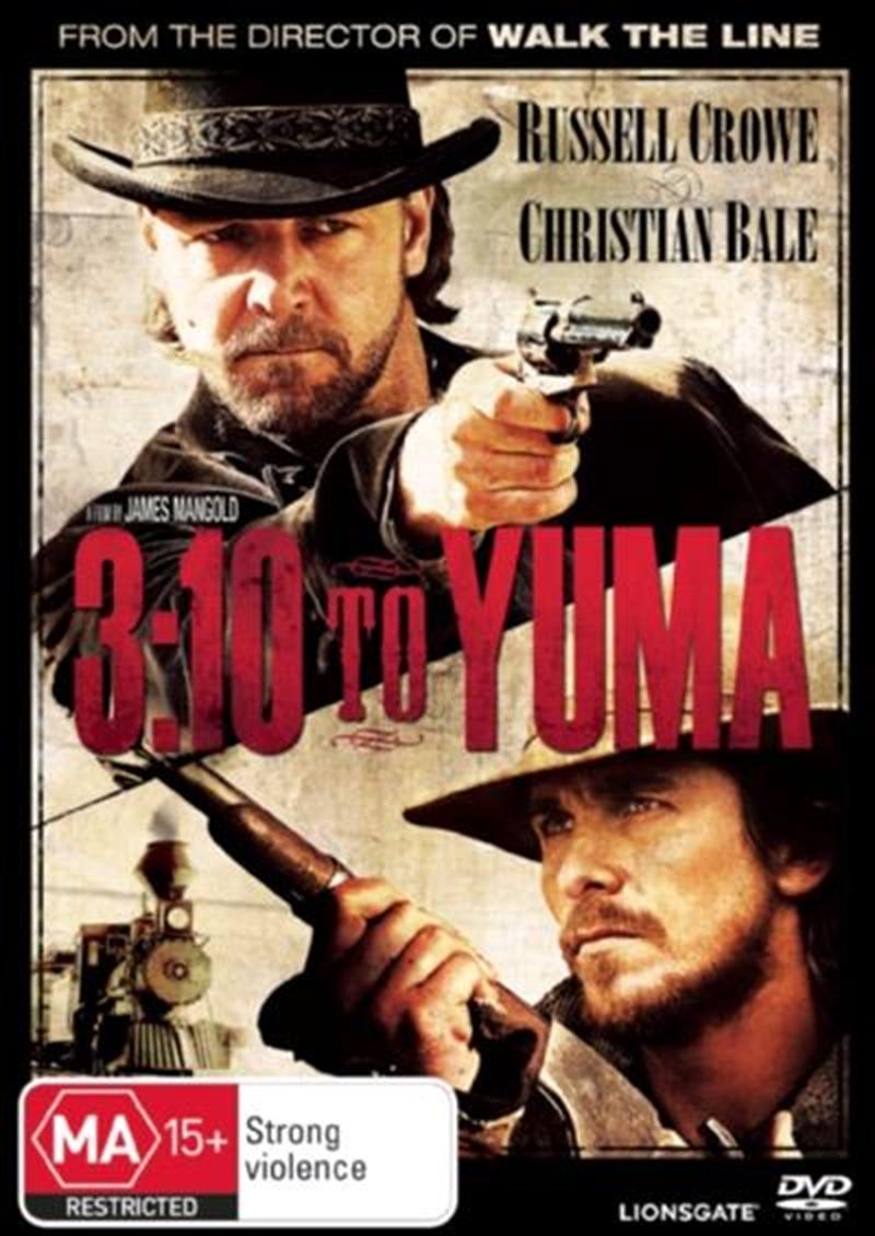 3-10 To Yuma   DVD