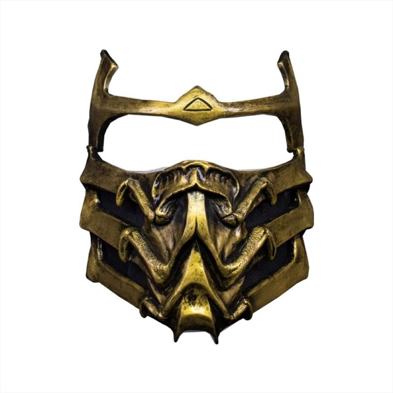 Mortal Kombat - Scorpion Mask   Apparel