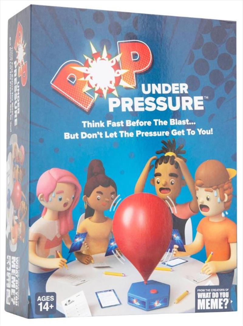 Pop Under Pressure   Merchandise
