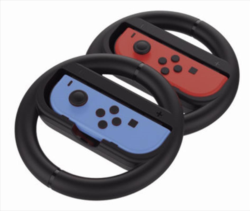 Powerwave Switch Joy Con Wheel Twin Pack   Nintendo Switch