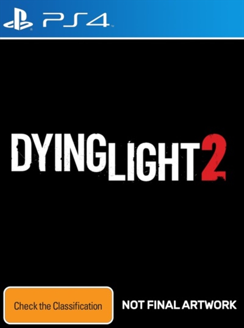 Dying Light 2 Stay Human   PlayStation 4