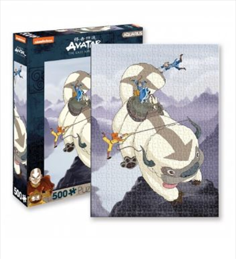 Avatar – Appa and Gang 500pc Puzzle   Merchandise