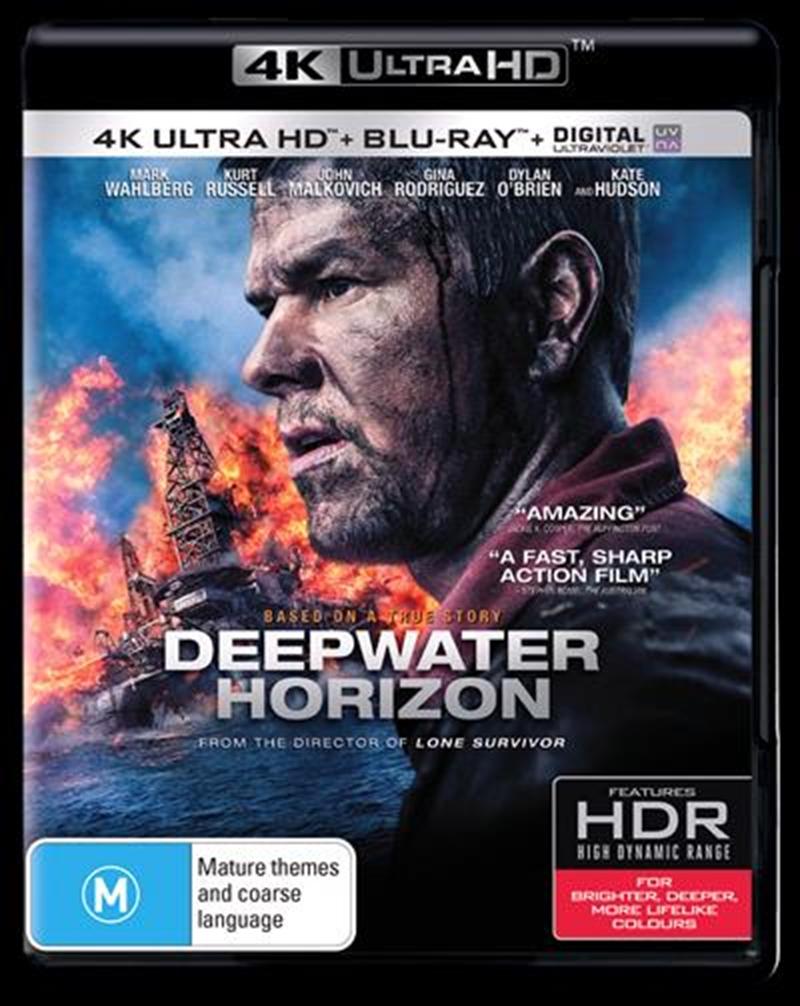 Deepwater Horizon | Blu-ray + UHD + UV | UHD UV