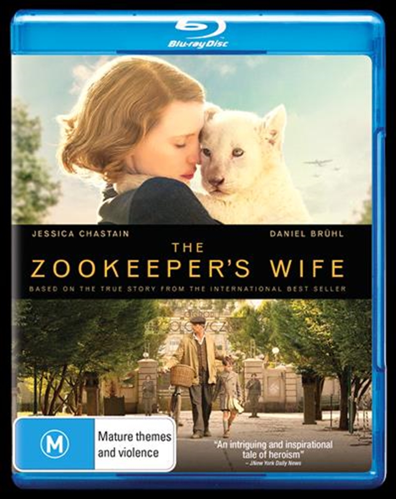 Zookeepers Wife, The | Blu-ray