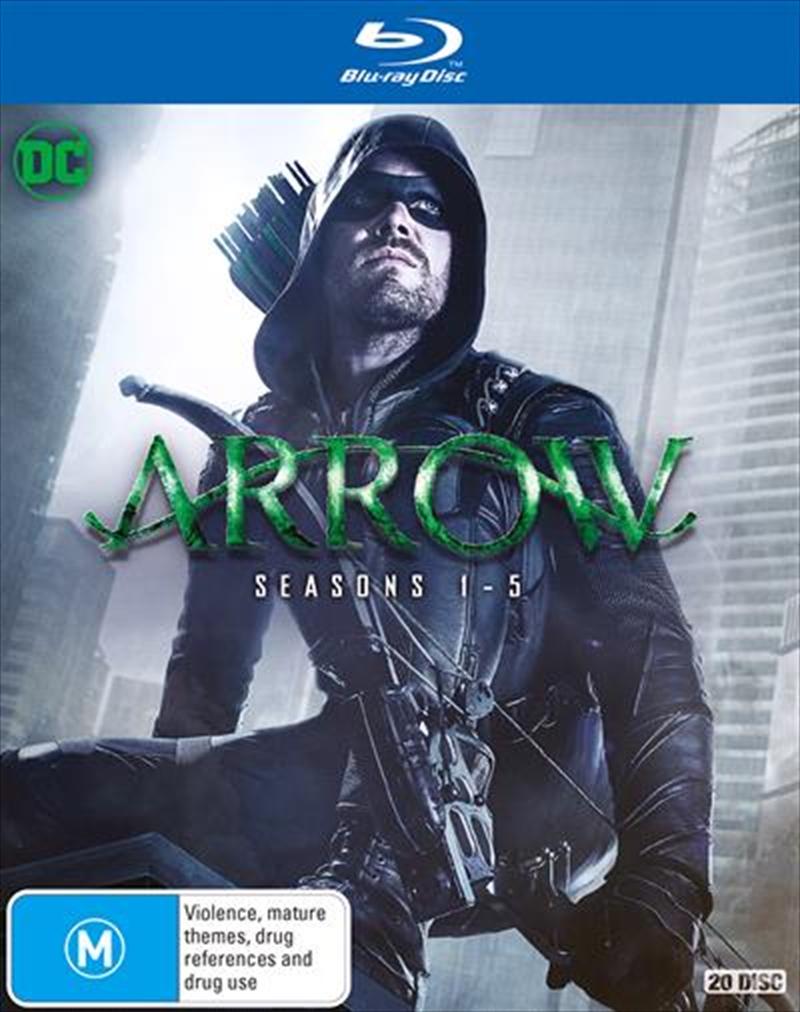 Arrow - Season 1-5 | Boxset | Blu-ray