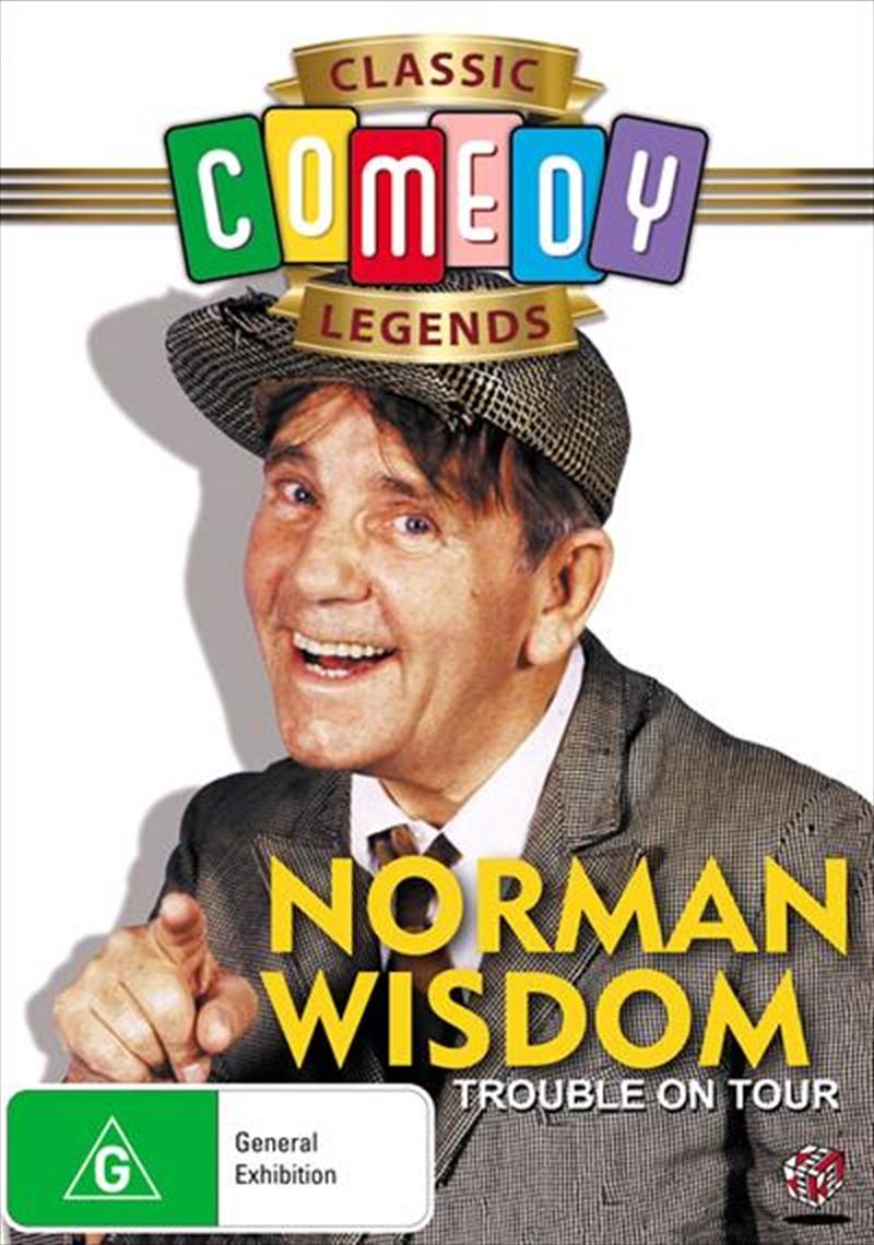 Norman Wisdom - Trouble On Tour   DVD