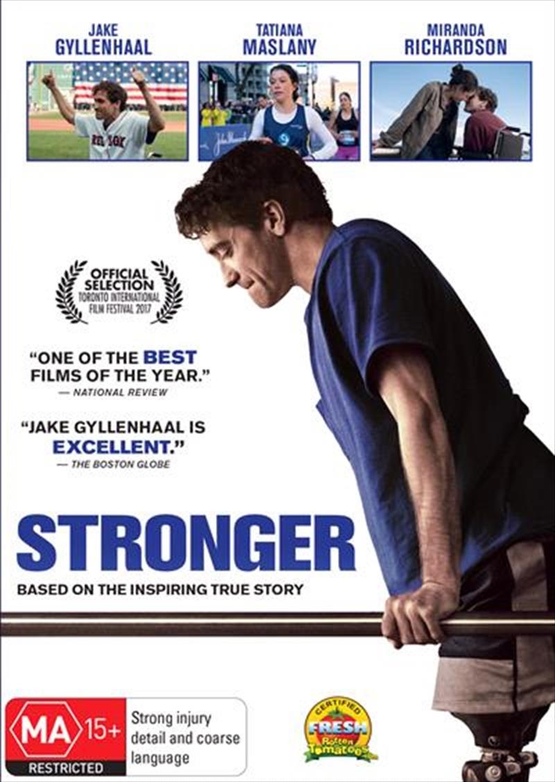 Stronger | DVD