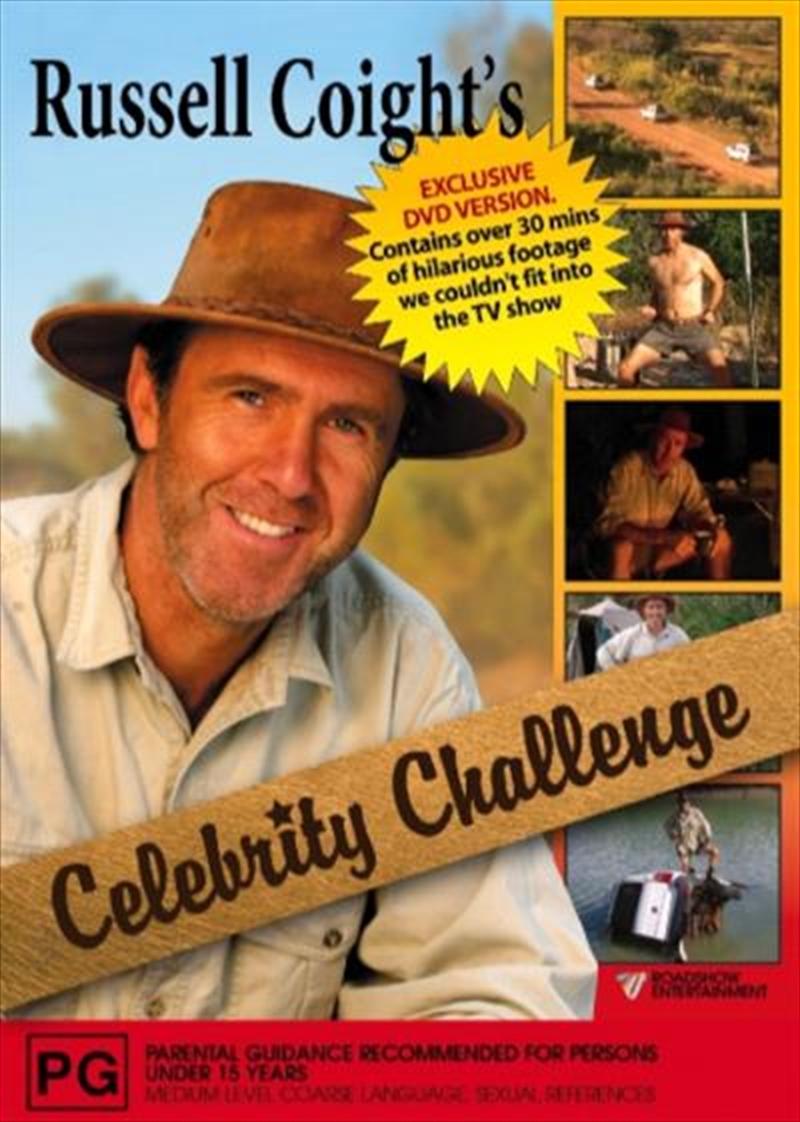Russell Coight's All Aussie Adventure - Celebrity Challenge | DVD