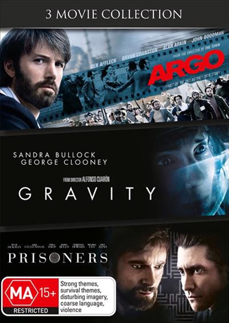 Argo / Gravity / Prisoners | DVD