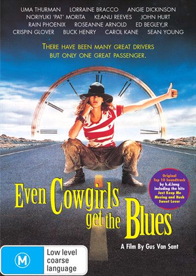 Even Cowgirls Get The Blues | DVD
