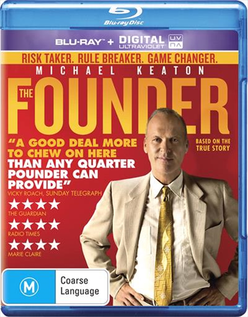 Founder, The   Blu-ray