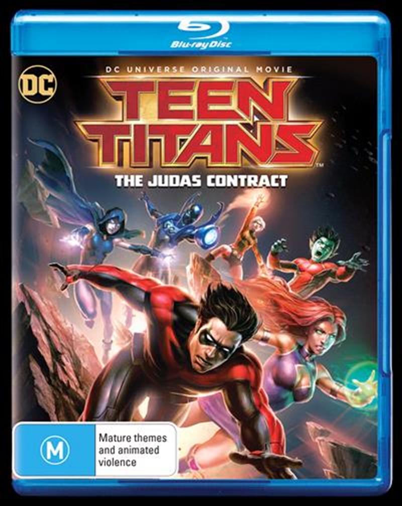 Teen Titans - The Judas Contract   Blu-ray