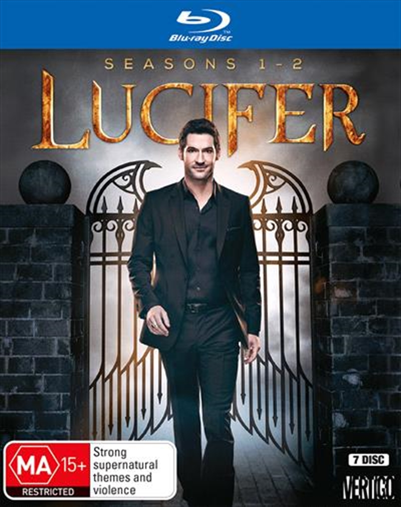 Lucifer - Season 1-2 | Boxset | Blu-ray