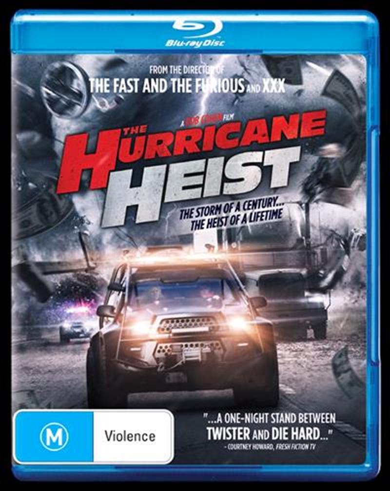 Hurricane Heist, The   Blu-ray