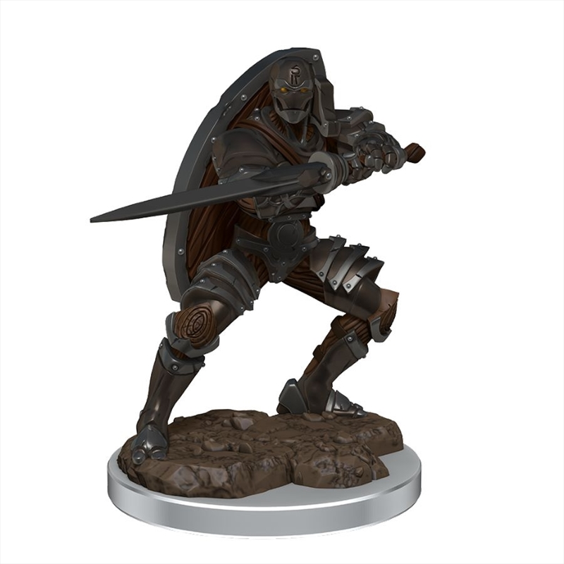 Dungeons & Dragons - Icons of the Realms Premium Male Warforged Fighter   Games