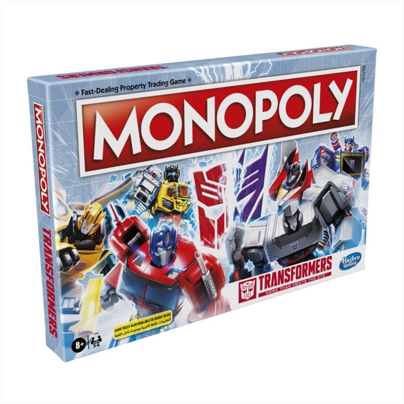 Monopoly - Transformers Edition | Merchandise