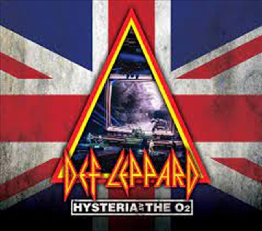 Hysteria At The O2   CD