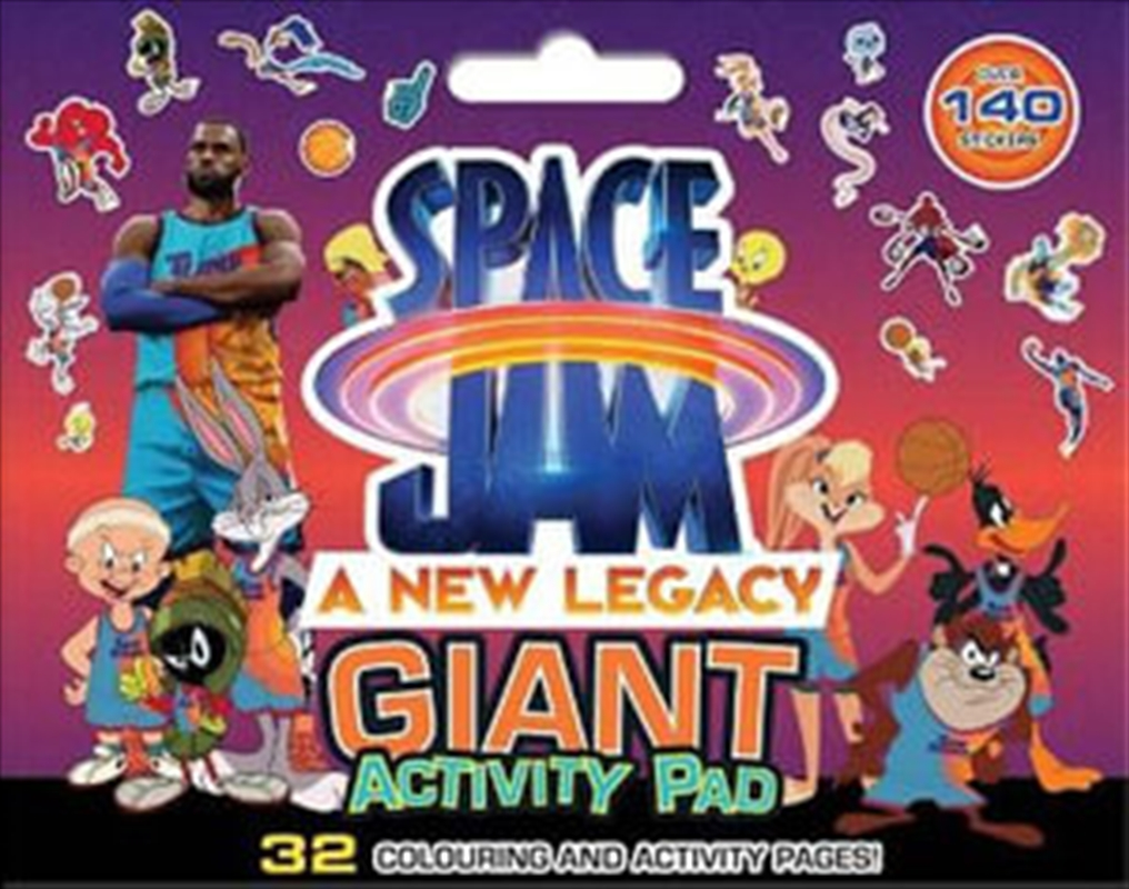 Space Jam 2: Giant Activity Pad | Paperback Book