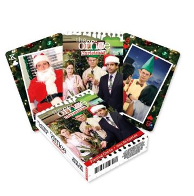 Office Christmas Playing Cards   Merchandise
