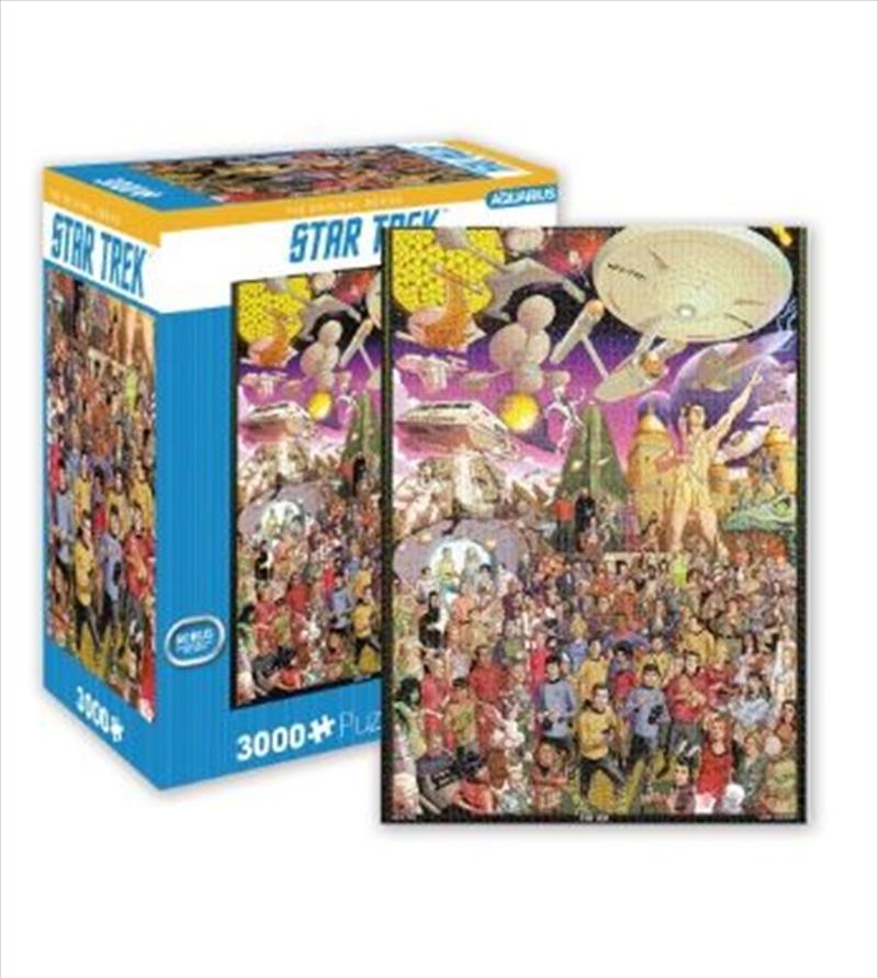 Star Trek – The Original Series 3000pc Puzzle | Merchandise