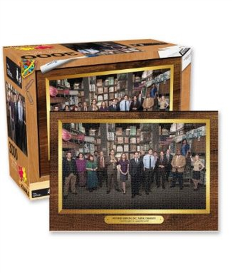 The Office – Company Photo 3000pc Puzzle | Merchandise