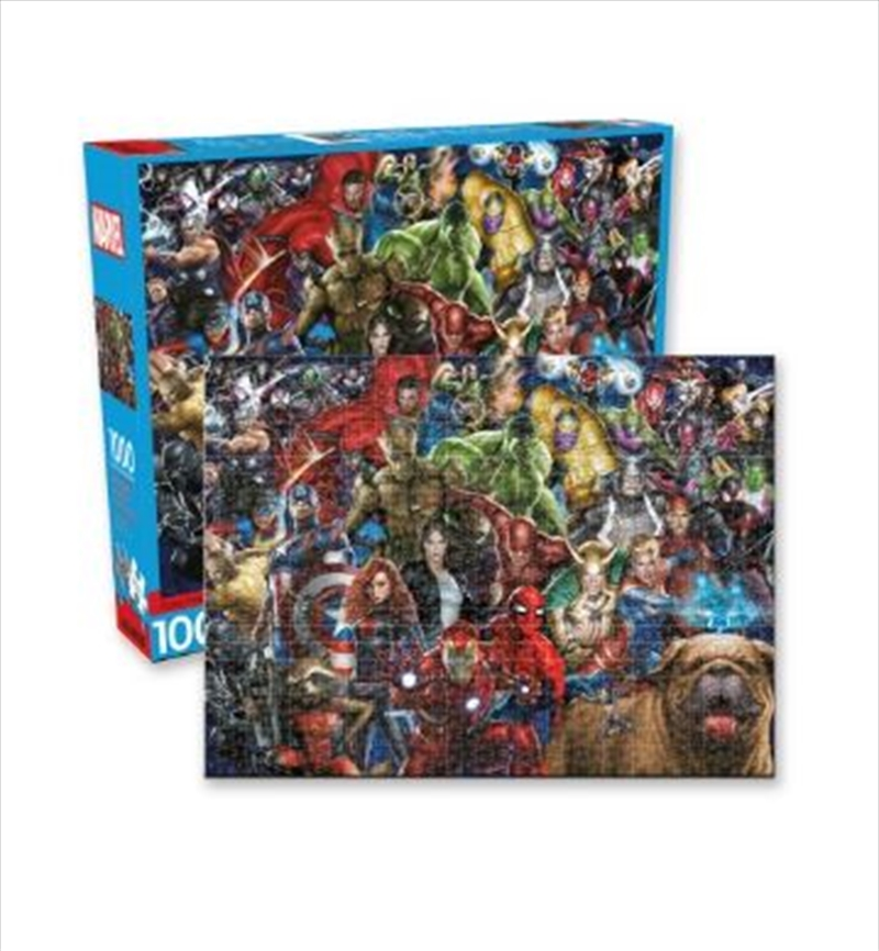 Marvel – Cast Gallery 1000pc Puzzle   Merchandise