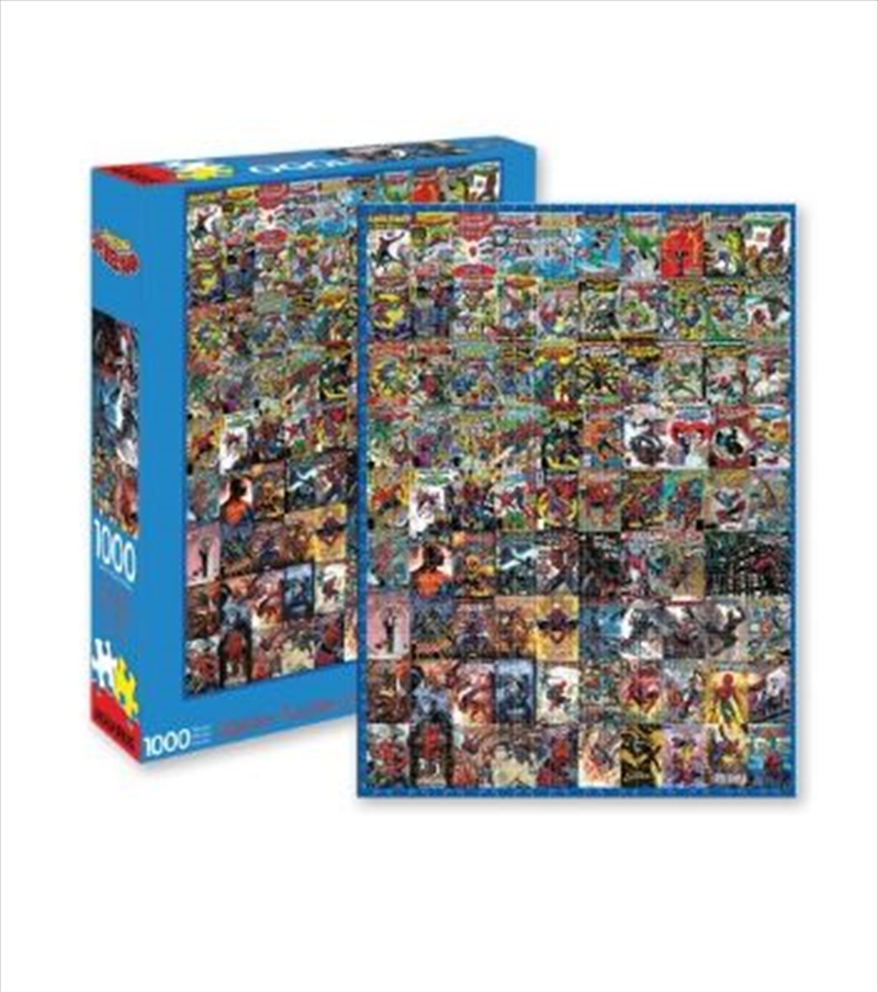 Marvel – Spider-Man Covers 1000pc Puzzle | Merchandise