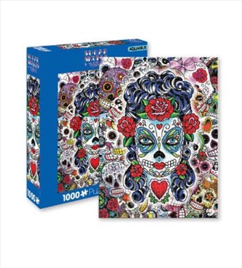 Sugar Skulls 1000pc Puzzle   Merchandise