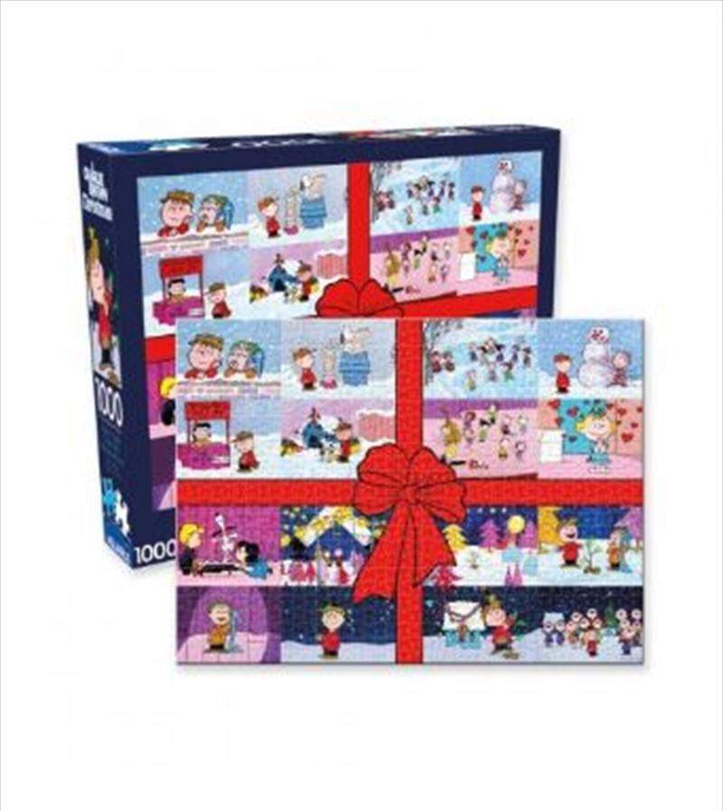 Charlie Brown Christmas – Present 1000pc Puzzle | Merchandise