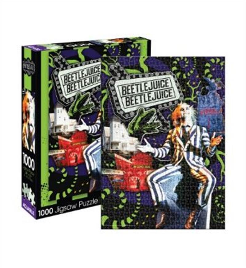 Beetlejuice – Collage 1000pc Puzzle   Merchandise