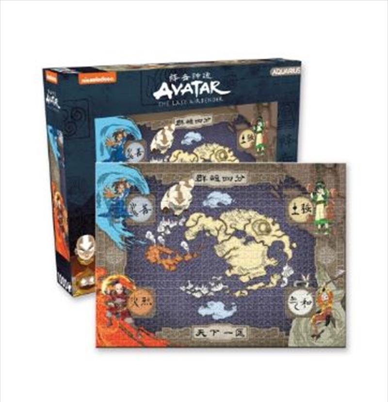 Avatar – Map 1000pc Puzzle   Merchandise