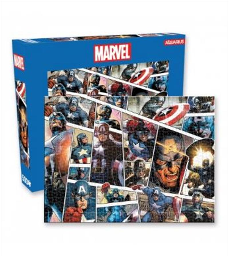 Marvel – Captain America Panels 500pc Puzzle   Merchandise