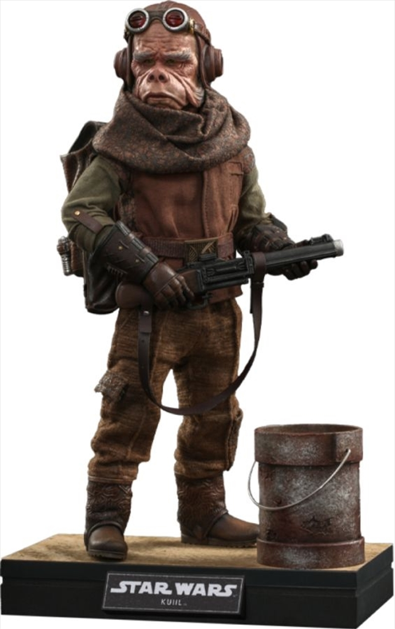 Star Wars: Mandalorian - Kuiil 1:6 Scale Action Figure | Merchandise