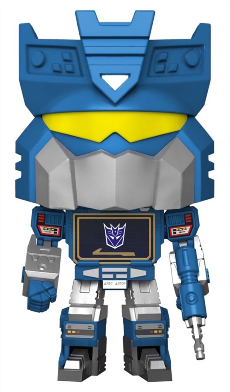 "Transformers - Soundwave with Tapes US Exclusive 10"" Pop! Vinyl [RS] | Pop Vinyl"