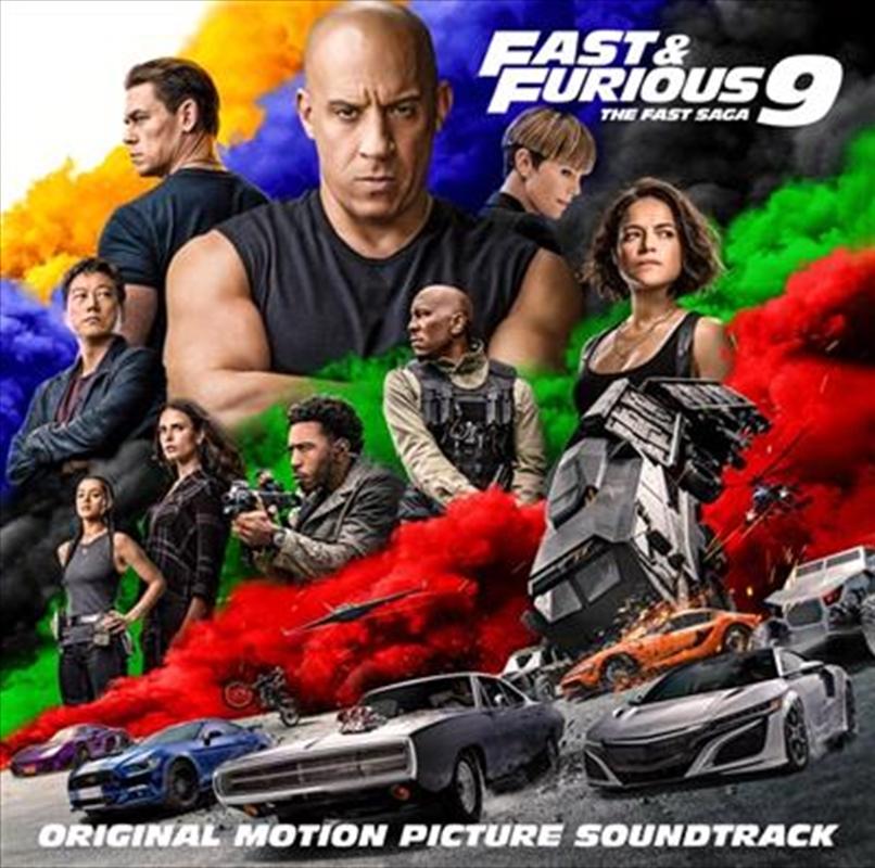 Fast And Furious 9 - The Fast Saga   CD