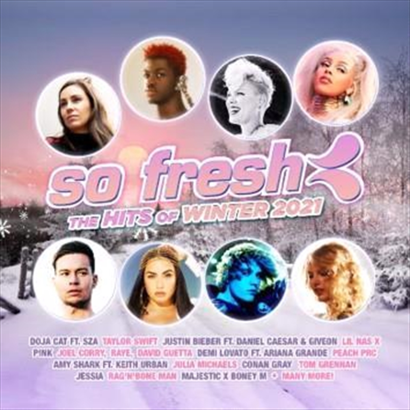 So Fresh - The Hits Of Winter 2021 | CD