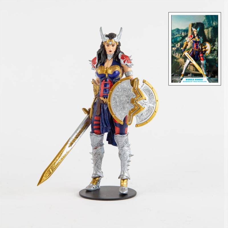 "Wonder Woman - Wonder Woman by Todd McFarlane 7"" Action Figure | Merchandise"