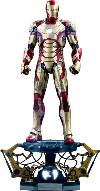 Iron Man 3 - Iron Man Mark XLII Deluxe 1:4 Scale Action Figure | Merchandise