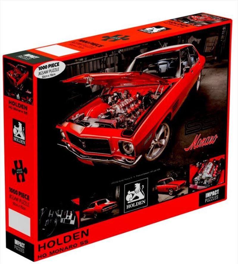 Holden: 1972 HQ Monaro 1000 Piece Puzzle   Merchandise