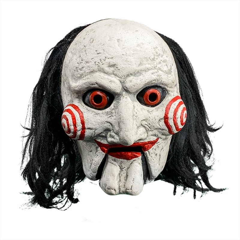 Saw - Billy Puppet with Moving Mouth Mask | Apparel