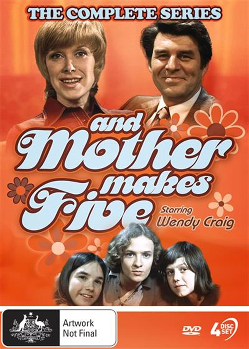 And Mother Makes Five | Complete Series | DVD