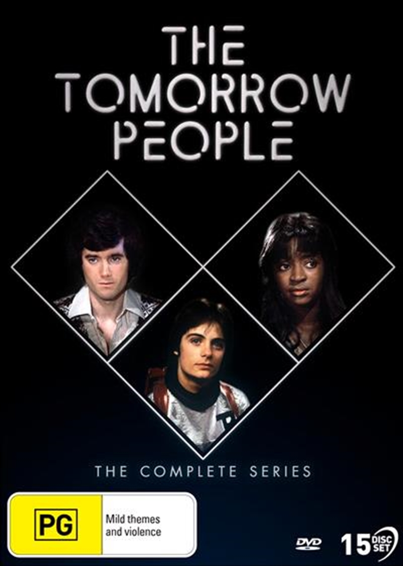 Tomorrow People   Complete Series, The   DVD