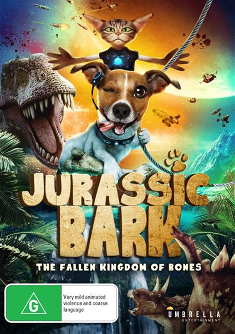 Jurassic Bark - The Fallen Kingdom Of Bones | DVD