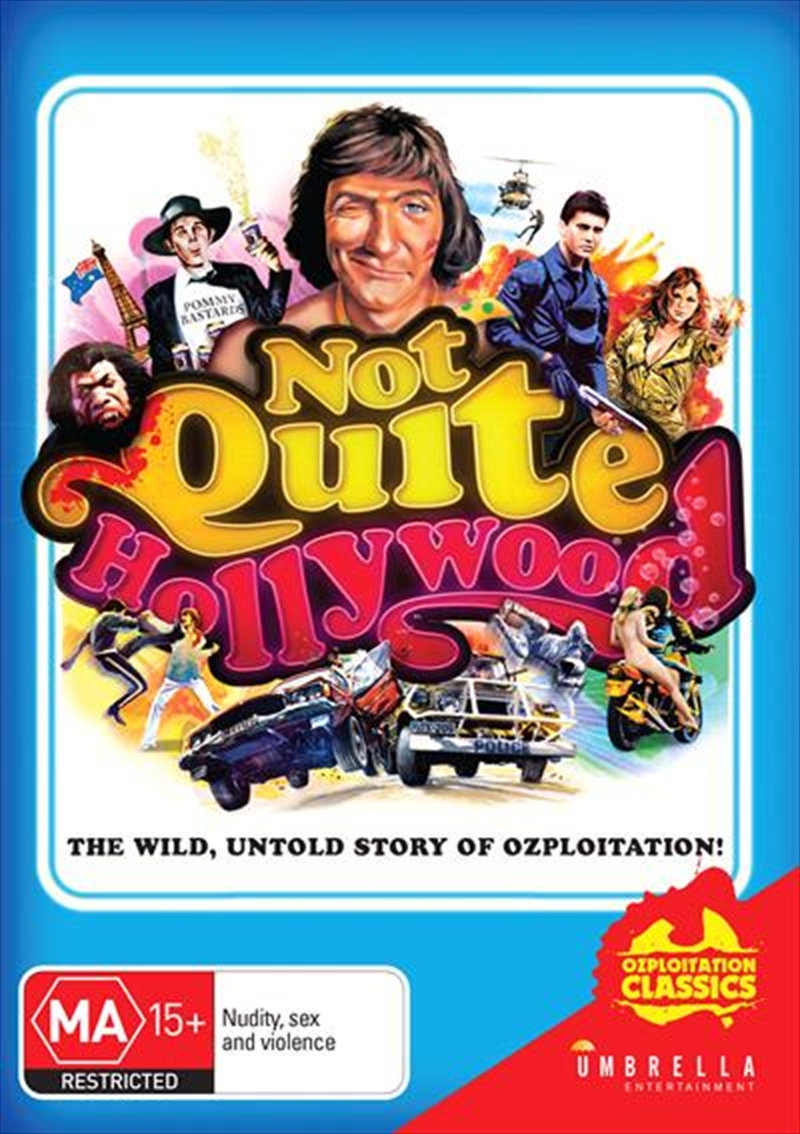 Not Quite Hollywood - The Wild, Untold Story Of Ozploitation   DVD