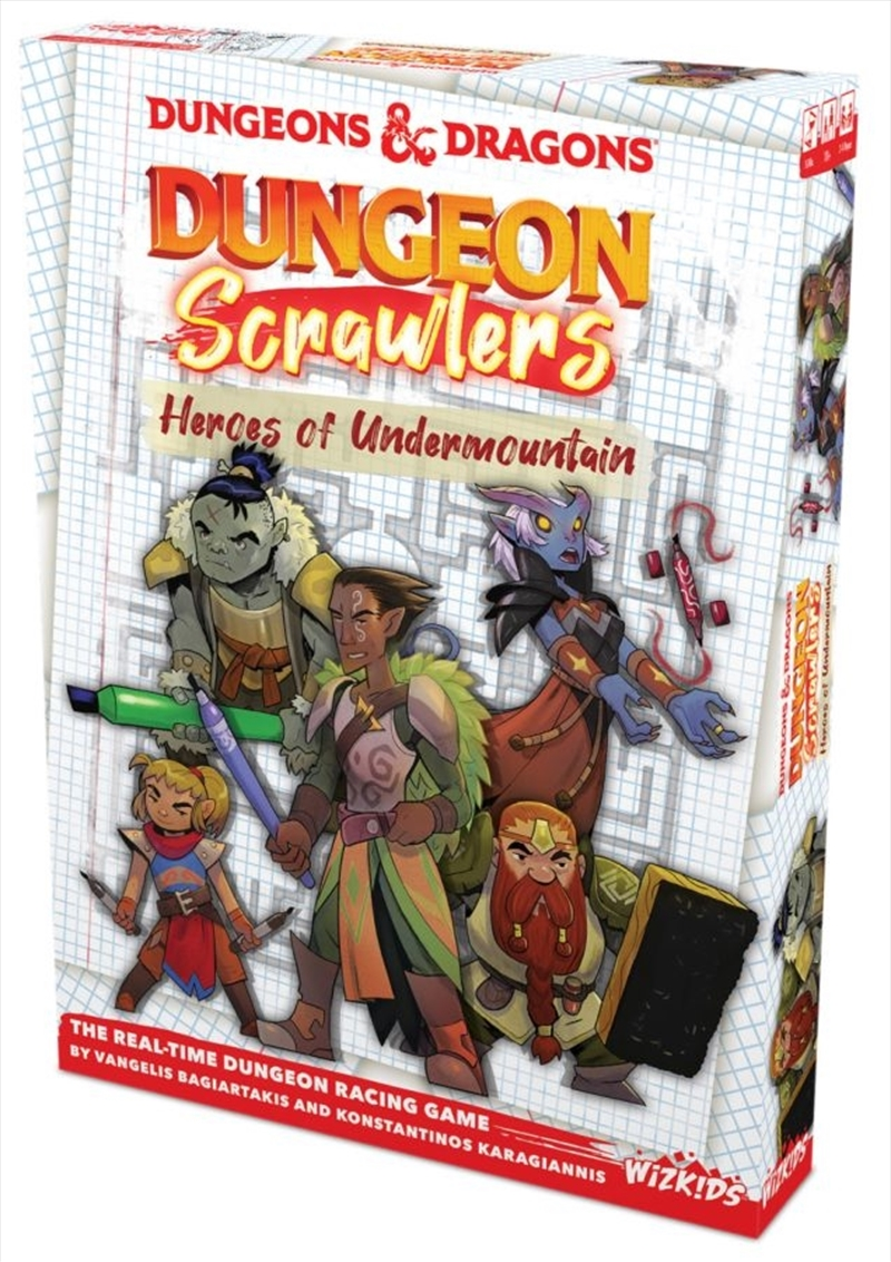 Dungeons & Dragons - Dungeon Scrawlers: Heroes of Undermountain Game   Merchandise