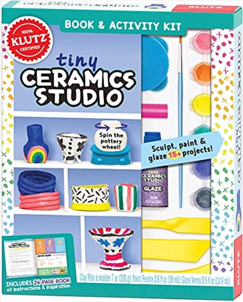 Tiny Ceramic Studio   Books