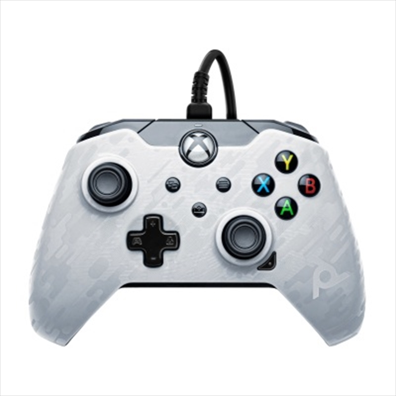 PDP Xbox Series X Wired Controller White Camo | XBOX Series X